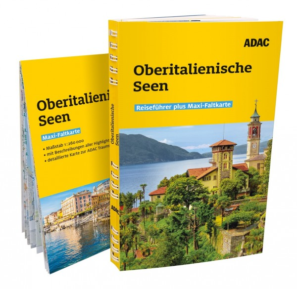 ADAC RF plus Oberitalien. Seen